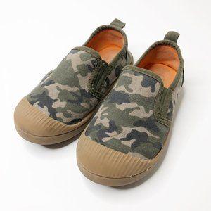 Cat & Jack Canvas Camo Slip On Shoes